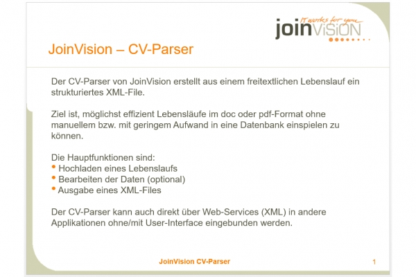 10 years cvlizer  grose lehrlingsoffensive auf joinvision com #1
