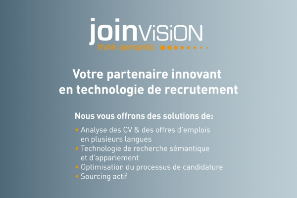 JoinVision stellt in Paris aus