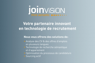 JoinVision as exhibitor in France – for the first time!
