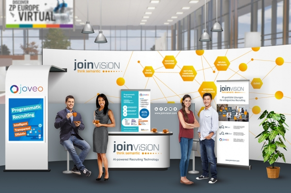 Virtueller Messestand JoinVision | ZP Europe Virtual